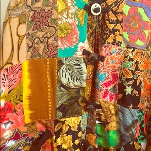 Serious Hippie Jacket, reversible